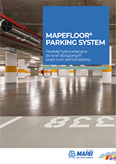 System MAPEFLOOR PARKING