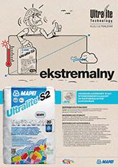 ULTRALITE S1/S2 kleje ekstremalne MAPEI
